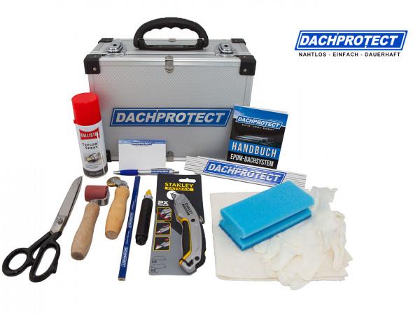 DACHPROTECT Werkzeugkoffer mit Verlegewerkzeug