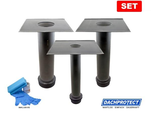 SET: DACHPROTECT Garantie Sanierungs-Gully (DN 75/110/125 mm wählbar) inkl. Aktivierung