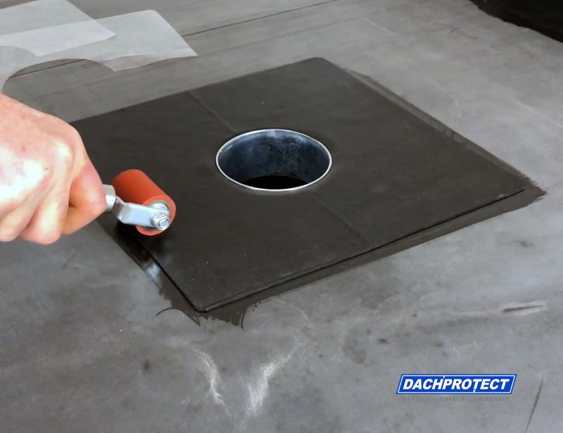 DACHPROTECT® EPDM Garantie-Gully anrollern