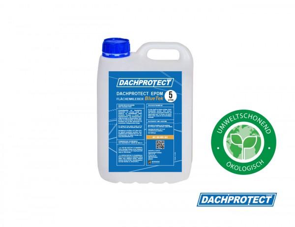 DACHPROTECT EPDM Flächenkleber BlueTek 5 Liter (Reichweite ca. 25 qm) lösemittelfrei
