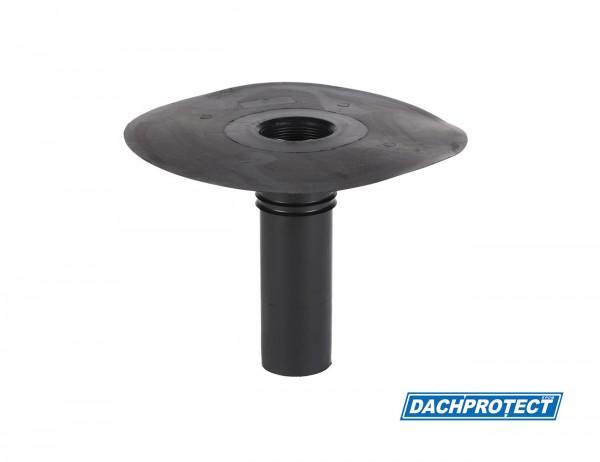 DACHPROTECT EPDM Klebe-Gully DN 75 (Flansch 280 mm / Stutzen 243 mm)