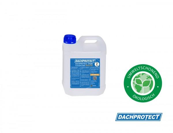 DACHPROTECT EPDM Flächenkleber BlueTek 2 Liter (Reichweite ca. 10 qm) lösemittelfrei