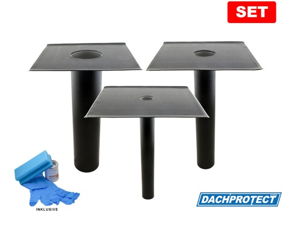 SET: DACHPROTECT EPDM Garantie-Gully (DN 50 - 125)