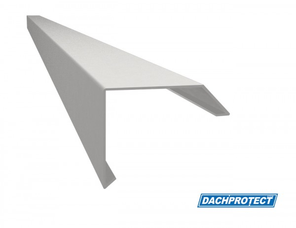 Dachrandprofil ISOS, 195 cm, Silber RAL 9006 stranggepresst, Materialstärke: 1,5 mm