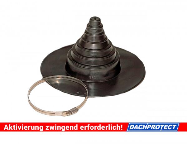 DACHPROTECT Rohrmanschette Durchmesser 25 - 150mm