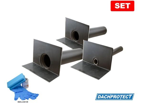 Set DACHPROTECT EPDM Garantie-Seitenablauf (DN 50 - 125)