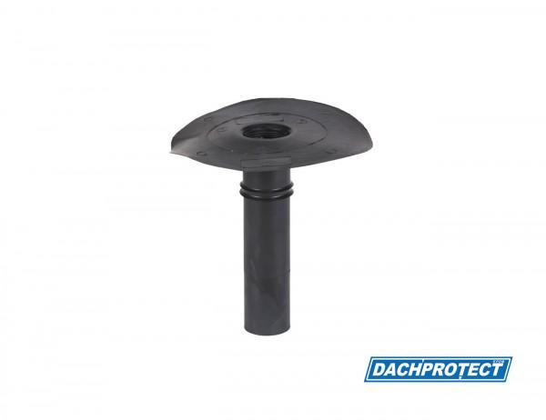 DACHPROTECT EPDM Klebe-Gully DN 50 (Flansch 235 mm / Stutzen ca. 243 mm)