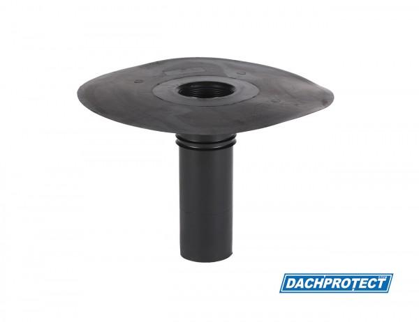 DACHPROTECT EPDM Klebe-Gully DN 86 (Flansch 320 mm / Stutzen 243 mm)