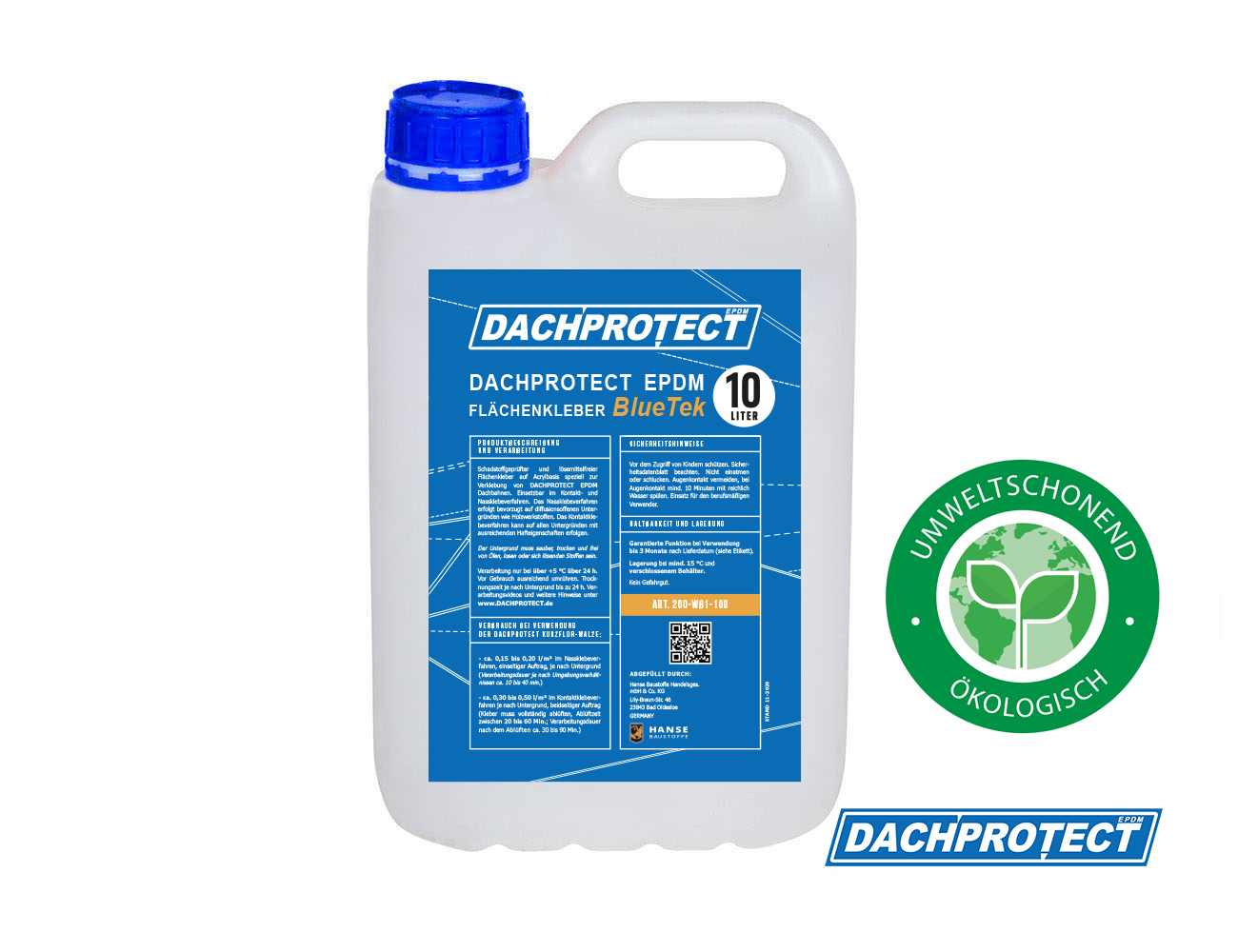 DACHPROTECT BlueTek 10 L