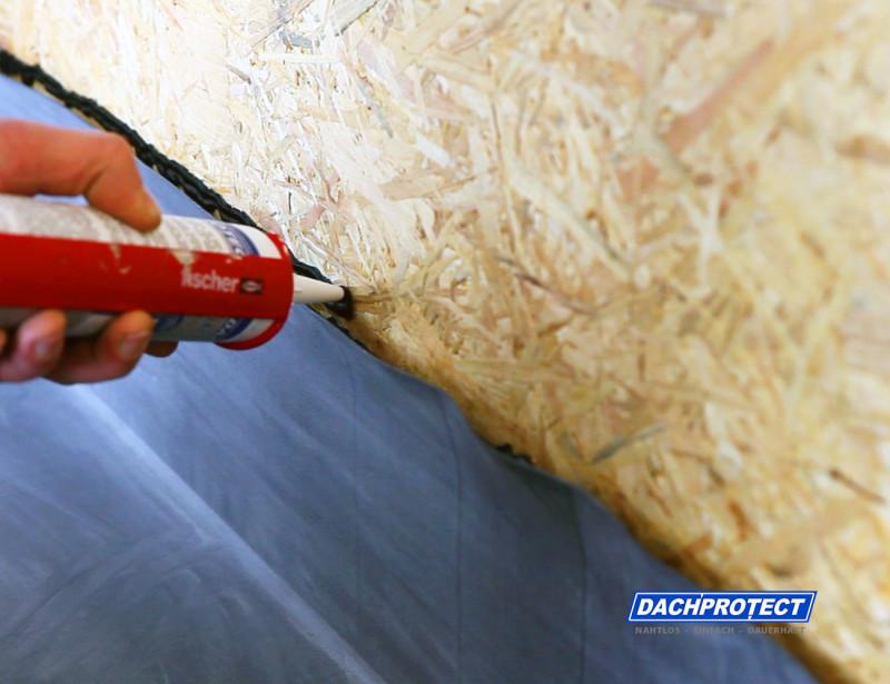 Dachprotect Anschlusskleber Flex aufbringen